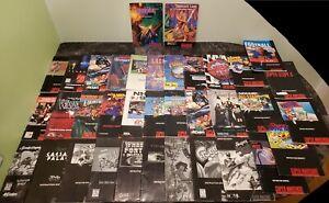 (36) Super Nintendo SNES Instruction Manuals Lot