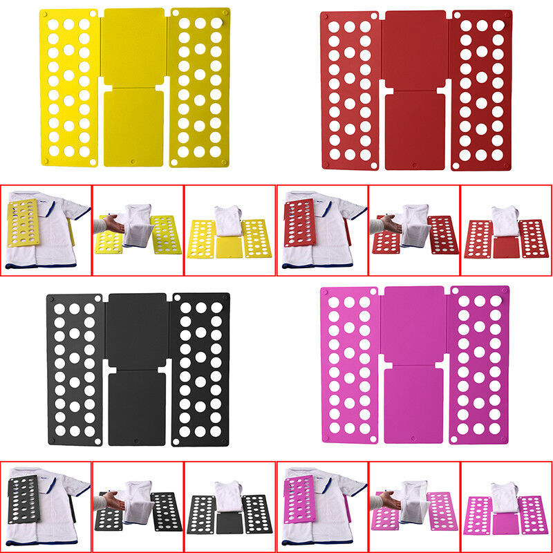 USA Convenient Folding Board Cloth T-Shirt Folder Laundry Or