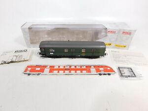CE676-0-5-Piko-H0-DC-53222-Bahnpostwagen-Post-508000-12009-9-NEM-NEUW-OVP