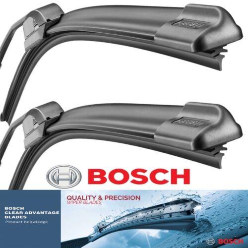2 pcs Wiper Blades Bosch Clear Advantage Fits 2002 Toyota Corolla Left Right Se