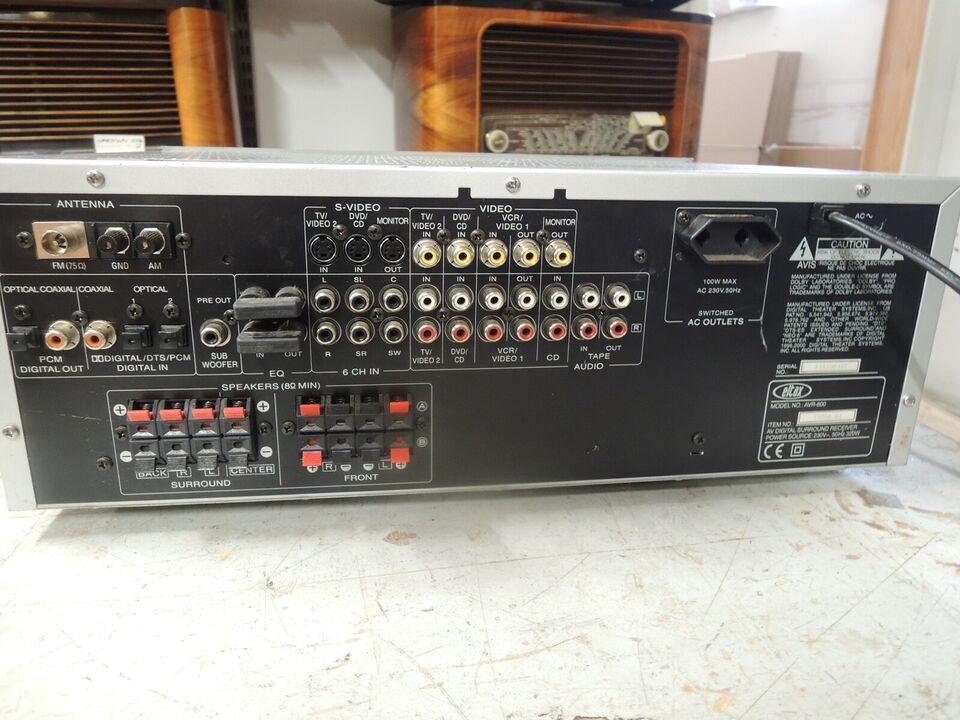 Receiver, Eltax AVR-800, God