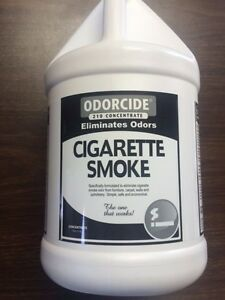 how to get rid of cigarette smoke odor