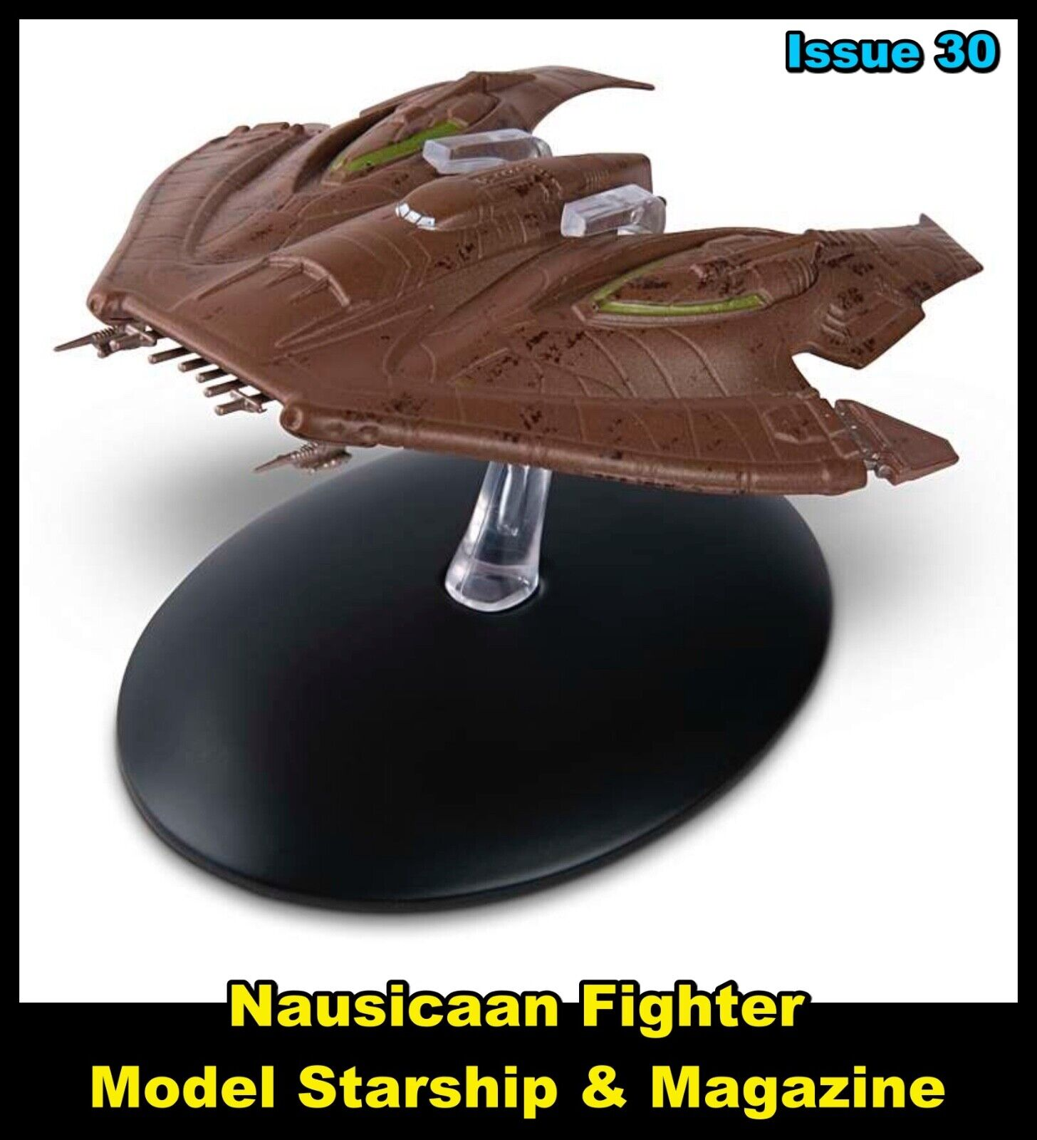Issue 30: Nausicaan Fighter Starship Model