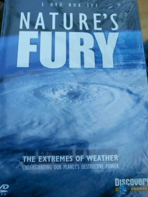 Nature's Fury (DVD, 2009, 5-Disc Set) new and sealed