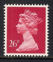 GB 1987 sg X971b 26p Rosine photogravure phosphorised paper Type II MNH