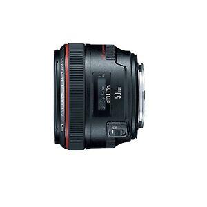 Canon EF  50mm f/1.2 L USM Lens USA Warranty