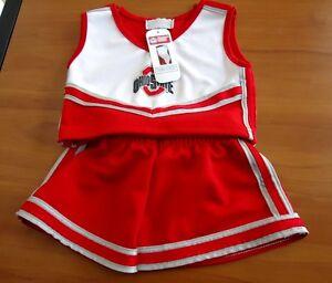 18 Mesi Bambine Originale Ohio St Cervo Occhio Jersey/gonna Corto Set With The Best Service