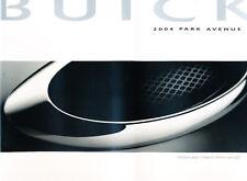 2004 Buick Park Avenue and Ultra 32-page Original Car Sales Brochure Catalog