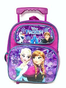 "Authentic Brand New. Disney Anna Frozen 12/"" Toddler Backpack"