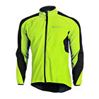 Winter Bicycle Jacket Men Fleece Thermal Bike Long Jersey Cycling Coat Top US XL