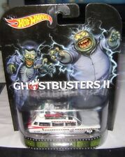 Hot Wheels 2014 Retro Entertainment Ghostbusters II Ecto-1A 1/64 scale HW
