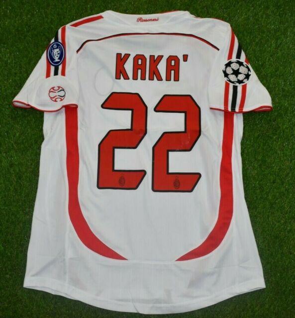 Ac Milan Kaka Jersey / AC MILAN 2007 2008 KAKA 22 HOME ...
