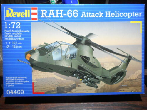 1//72 REVELL 04469 RAH-66 ATTACK HELICOPTER