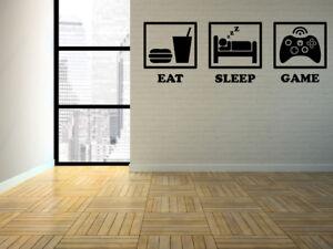 Eat Sleep Xbox Wall Sticker