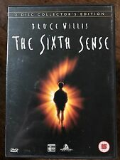 Bruce Willis THE SIXTH SENSE ~ 1999 ~ M Night Shyamalan Classic   2-Disc UK DVD