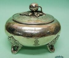 Imperial Russian Silver Ethrog Box Emil Radke Josef Sosnkowski 1883