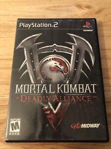 Mortal-Kombat-Deadly-Alliance-Sony-PlayStation-2-2002-Black-Label