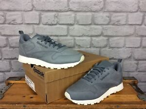 Rrp £60 Classic Ladies Reebok 6 39 Uk Grey Eu Leather Trainers Oza7wvqCzn