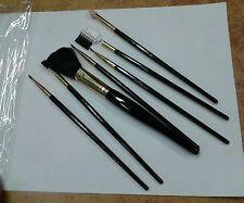 1 set 7 pennelli trucco  da borsa made in italy art varieta070