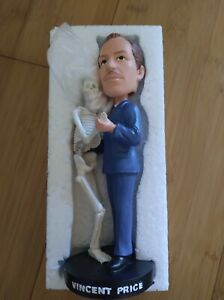 """Rue Morgue Rippers 7"""" Vincent Price Bobblehead - Limited Edition 1200/1500"""