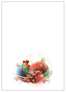 Motivpapier Weihnachten.Details Zu 25 Blatt Briefpapier 5055 A4 Format Motivpapier Weihnachten Gesteck Geschenk