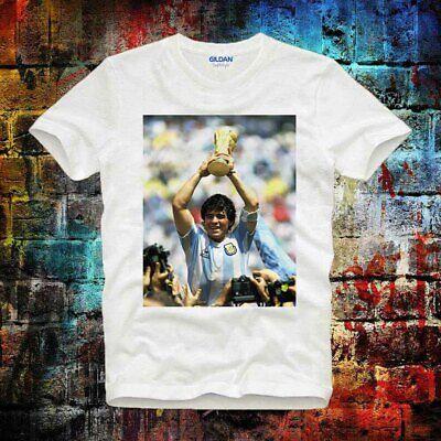 Diego Maradona T shirt Football Legend Argentina  UnisexT  Shirt B686