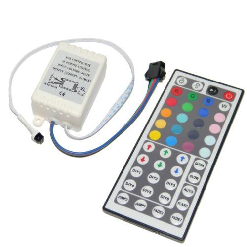 Rgb led dispositif de commande extent contrôleur télécommande 12v