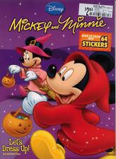 Mickey Mouse coloring book RARE Halloween