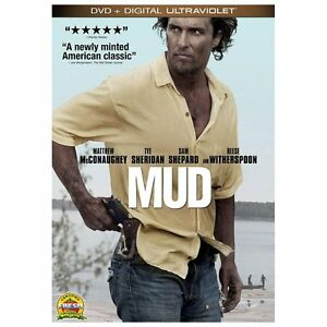 NEW-Mud-DVD-Digital-MOVIE-Reese-Witherspoon-Sarah-Paulson-Matthew-Mcconaughey