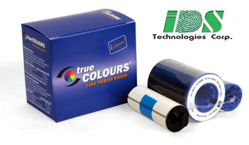 Genuine Zebra 800015-440 YMCKO Color Ribbon /& 200 Blank White PVC Cards Bundle