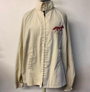 VTG-Kentucky-Horse-Park-Windbreaker-Jacket-Zip-Front-Men-XL-Sportsmaster-70s-80s