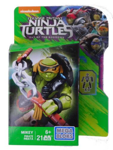 Mikey Pirata Mega Bloks Teenage Mutant Ninja Turtles Tartarughe Ninja 2015