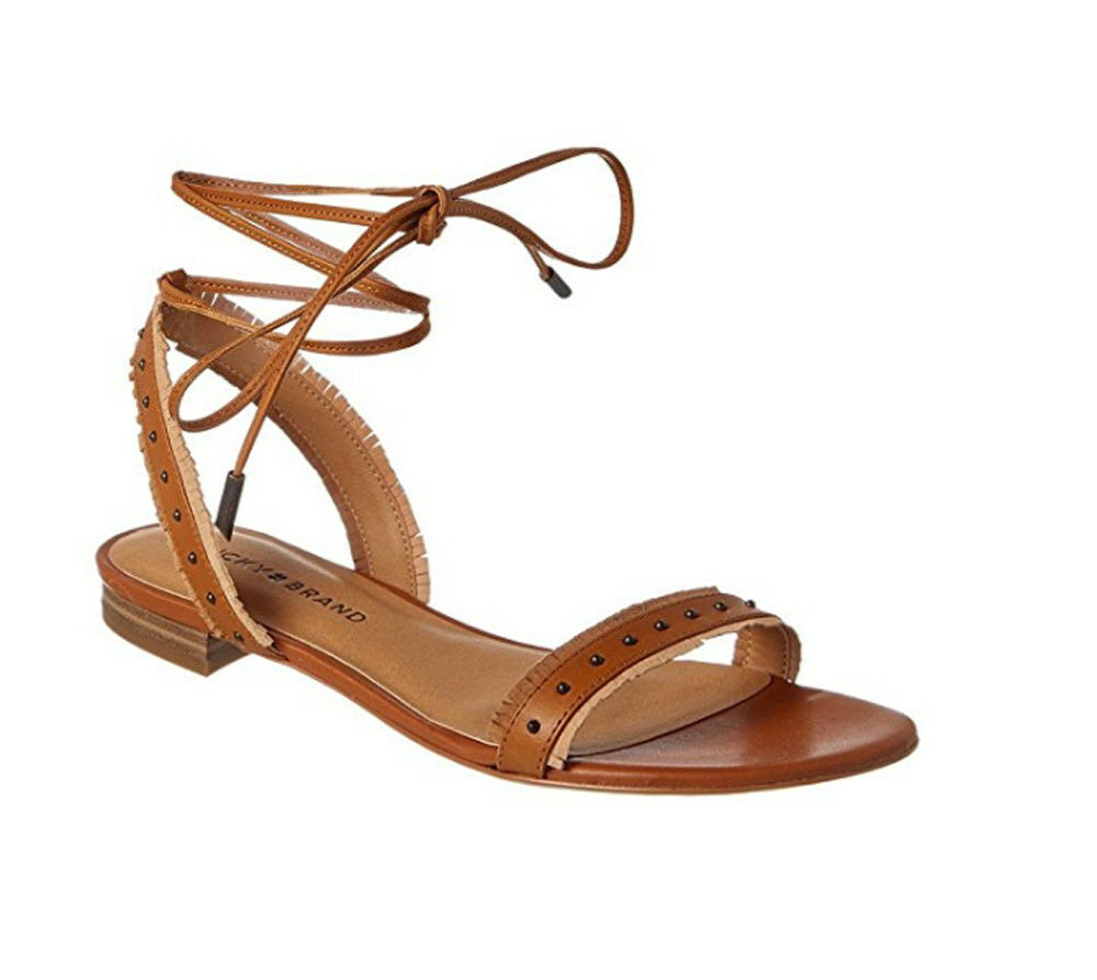 Lucky Brand Womens TOREE Fabric Open Toe Strap Sandals