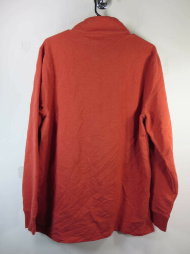 Solid Mens Pendleton M Nwt Pullover 89 4 Red Maglione 1 Zip New 94508224495 6qCES