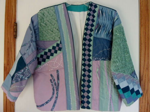 Custom Quilted Womens Bargello Smocking Wave Tuck