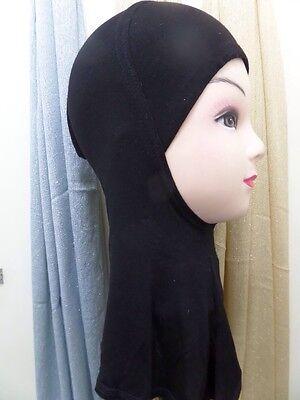 Hijab Styling Full Cover Under Scarf Ninja Inner Neck Chest Plain Hat Cap Bonnet