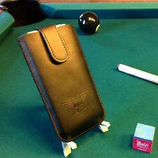 Luxus Tasche Etui Case Display Schutz Hülle Leder Cover für iPhone 4 4s 3gs