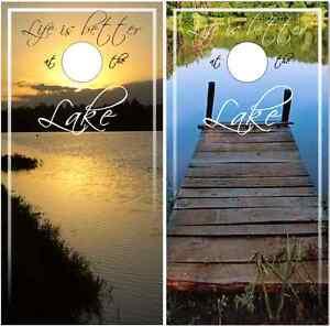 Lake-Life-Cornhole-Wrap-Bag-Toss-Skin-Decal-Sticker-Wraps
