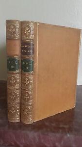 1889-The-History-Of-England-2-Tomos-L-Macaulay-De-Longmans-London-Tr-jaspees