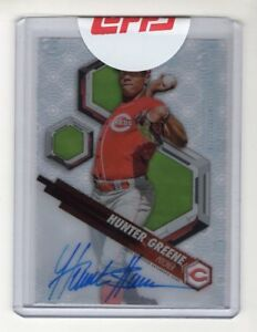 2018-Topps-High-Tek-Hunter-Greene-Prospect-Autograph-Cincinnati-Reds