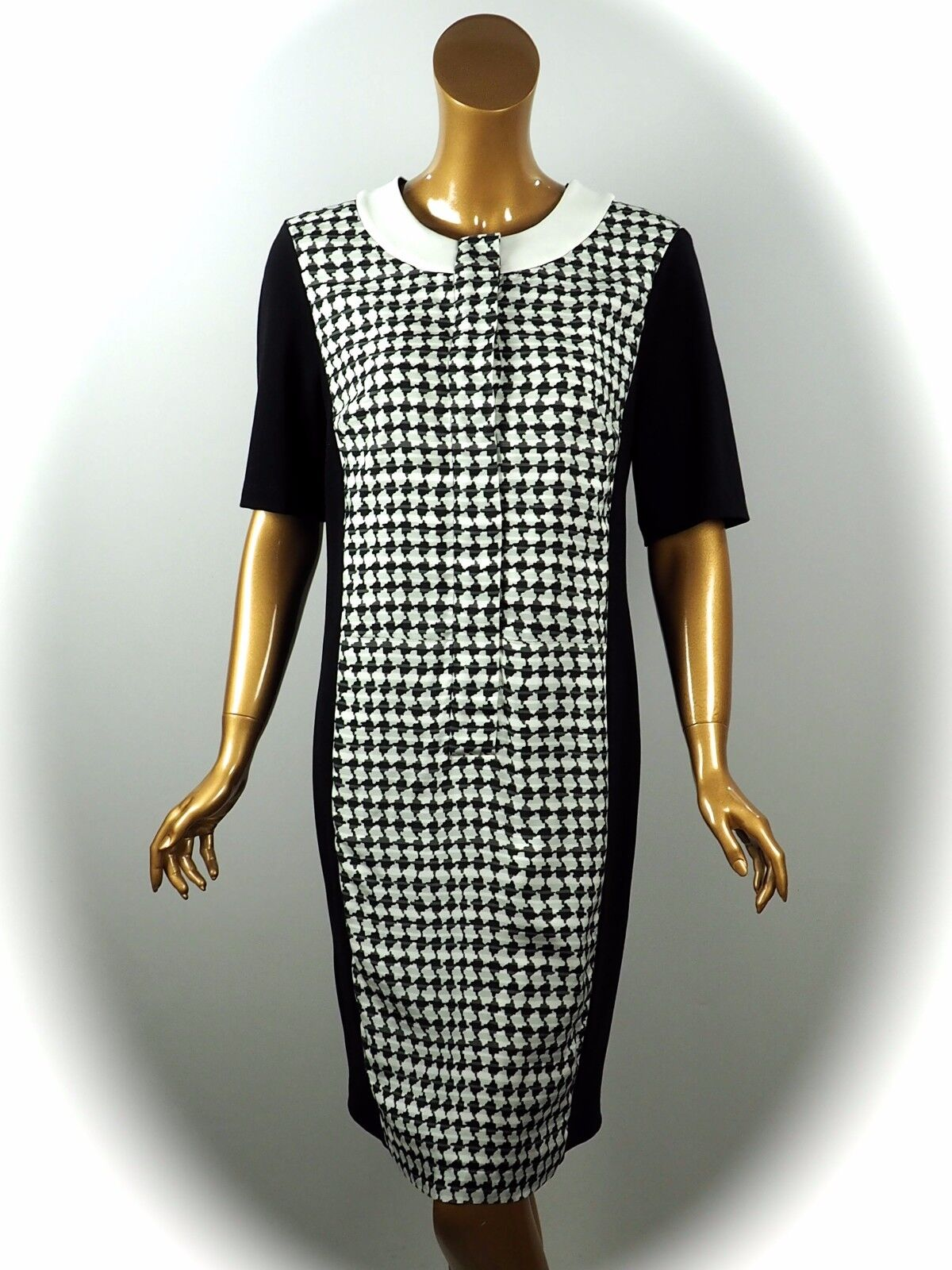 864fef2a0e06 neroy Dress Dress Dress esclusivo legeres Abito Taglia 40 NUOVO 93c152