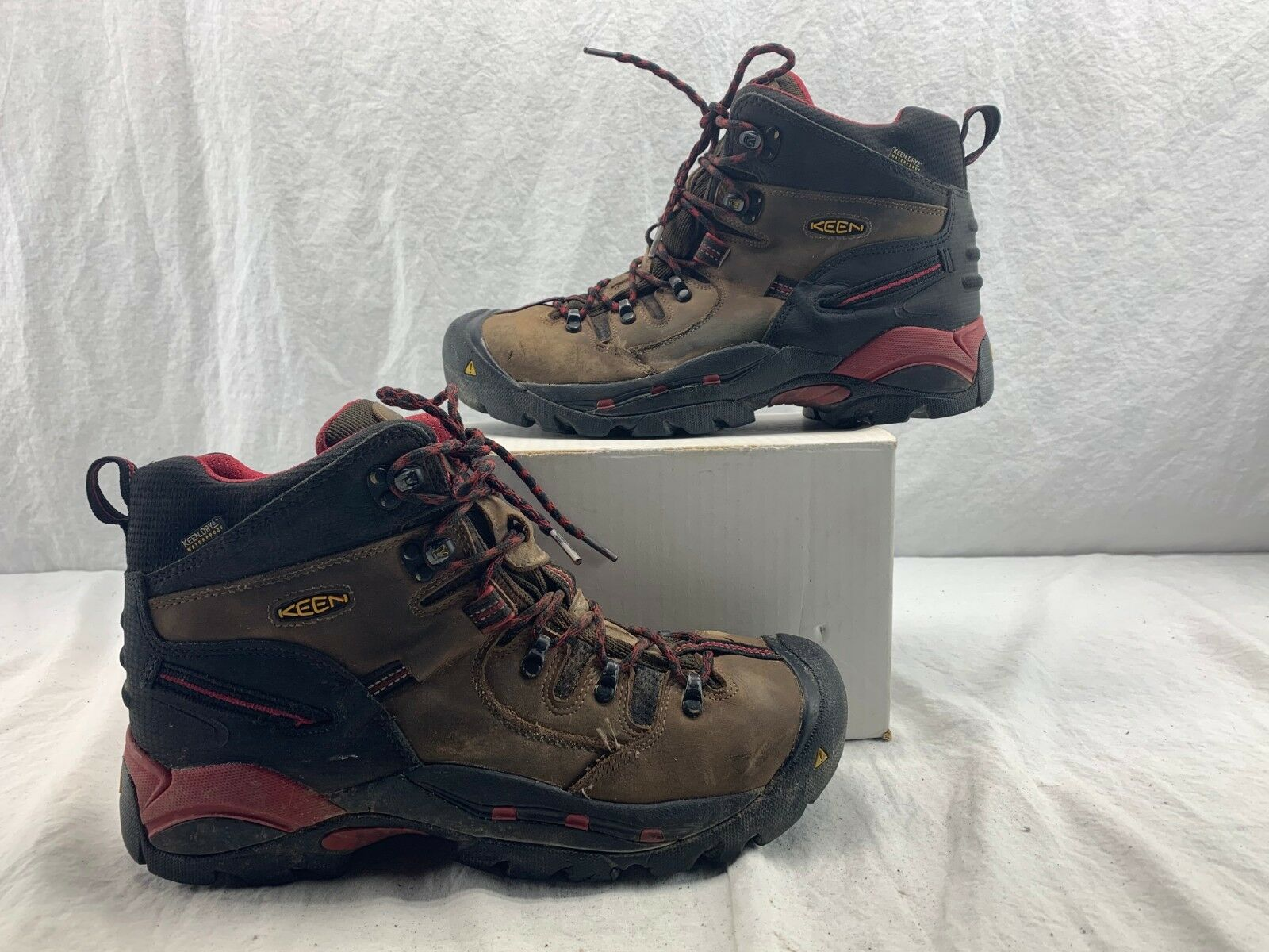 Keen 1007024 1007024 1007024 Uomo Pittsburgh Dry-lex Footwear Lining 6  avvio Bison Dimensione 11 D 189afc