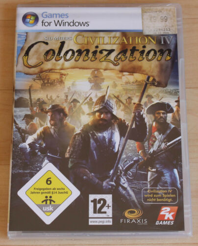 1 von 1 - Sid Meier's Civilization IV: Colonization (PC, 2008, DVD-Box)