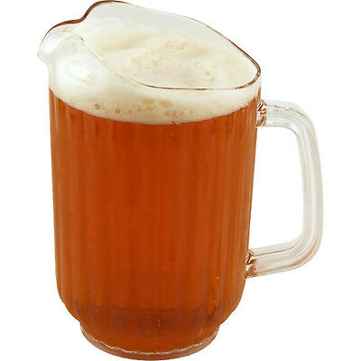 Plastic Bar/Restaurant Pitcher - 60 oz - Serve Beverages Beer Soda Pop Ice Water