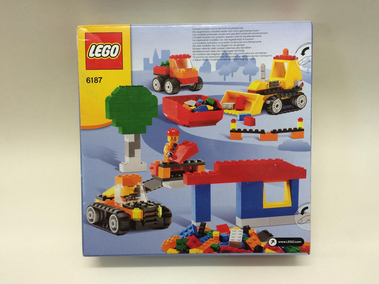 Neuf Scellé Scellé Scellé LEGO Creative Building 6187 lego construction routière interrompu RARE cee3d7