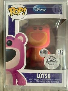 Funko-Pop-Flocked-Lotso-Disney-480-Pcs-Toy-Story-WITH-BOX-READ-Description