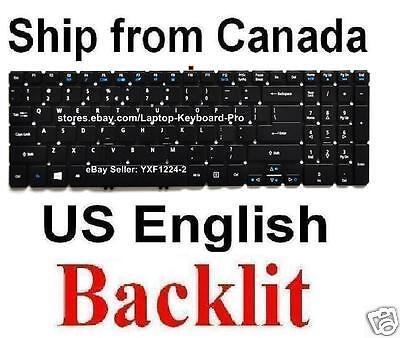US Backlit Keyboard for Acer Aspire V5-572P V5-572P-9655 v7-581 V7-581-6489