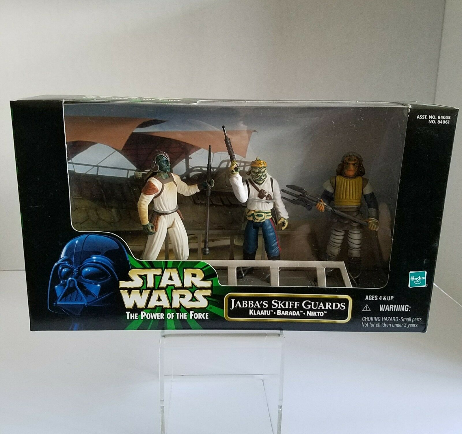 Hasbro 1998 Star Wars Jabba's Skiff Guards Collectible Action Action Action Figure Set ef4469