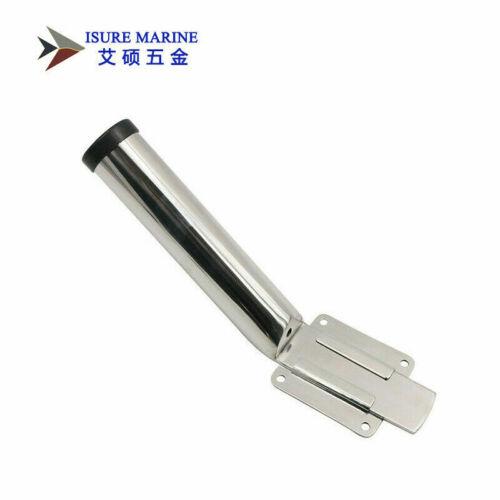 ISURE MARINE 316 Stainless Steel 38mm Removable Slide Mount Fishing Rod Holder