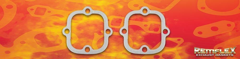 Set of 2 Remflex 8017 Street /& Performance Collector//Reducer Exhaust Gasket,